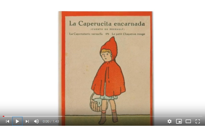 La caputxeta vermella, il·lustrada per Pere Torné Esquius