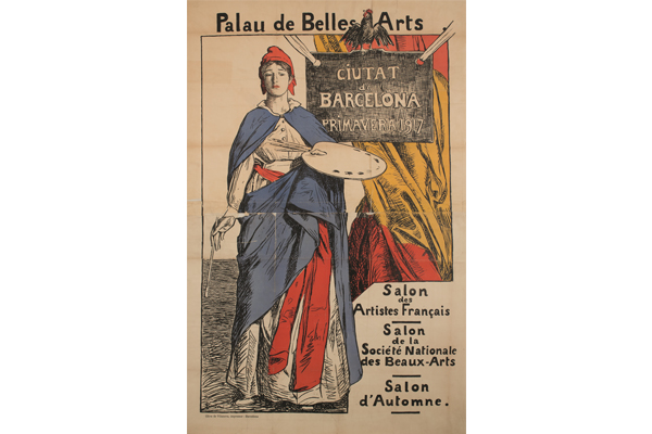 Exhibition of French art 1917|Art archives