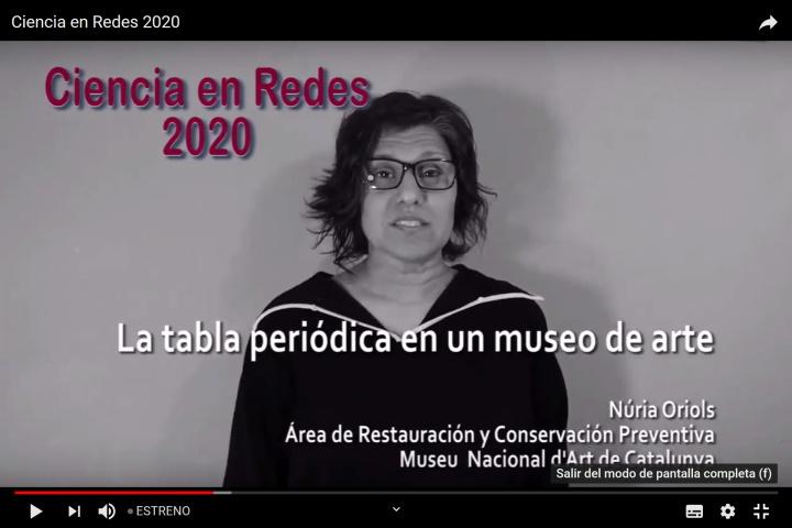 Ciencia en Redes 2020 - Núria Oriols