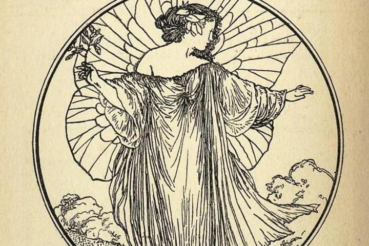 Llibres il·lustrats de la biblioteca d'Alexandre de Riquer | exposició virtual biblioteca joaquim folch i torres
