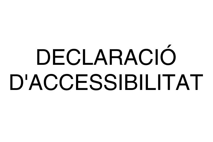 declaració d'accessibilitat web 2020