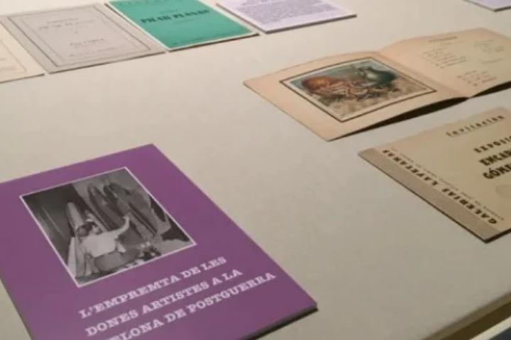 L'empremta de les dones artistes a la Barcelona de postguerra | exposició virtual biblioteca joaquim folch i torres