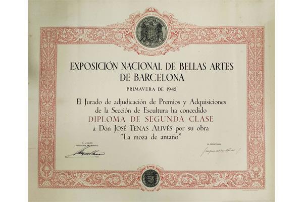 Exposición Nacional de Bellas Artes de 1942