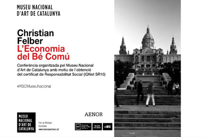Christian Felber al Museu Nacional: L'economia del Bé Comú