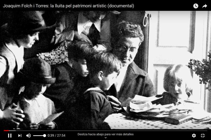 Joaquim Folch i Torres: la lluita pel patrimoni artístic (documental)