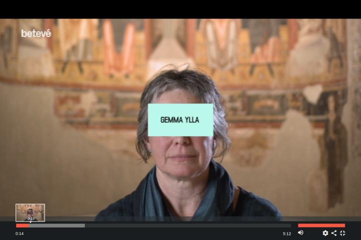 entrevista a gemma ylla, conservadora d'art romànic del museu nacional d'art de catalunya
