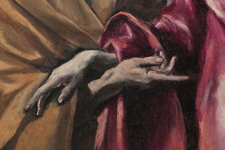 El Greco, Sant Pere i sant Pau, entre 1590-1600