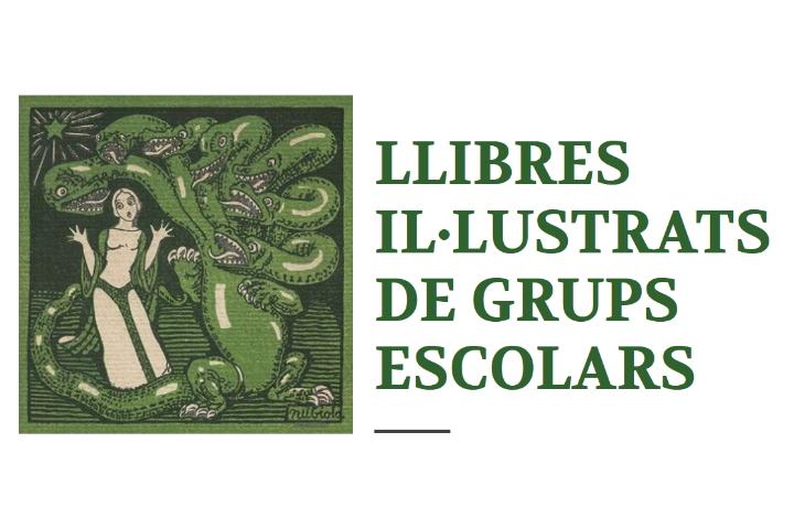 Llibres il·lustrats de grups escolars de la Biblioteca | exposició virtual biblioteca joaquim folch i torres