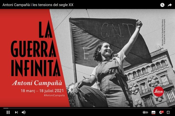 Antoni Campañà i les tensions del segle XX