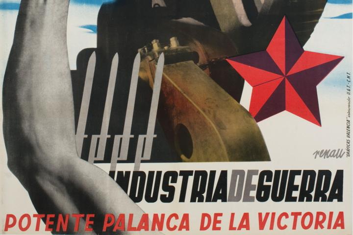 """Guia temàtica """"Art i guerra. Cartells de la guerra civil espanyola"""""""