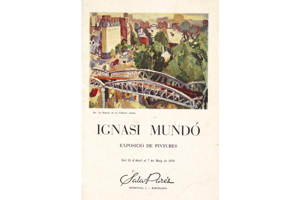 Ignasi Mundó i Marcet|Art archives