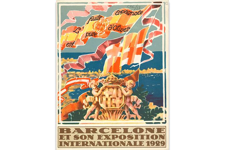 Barcelone et son exposition internationale 1929