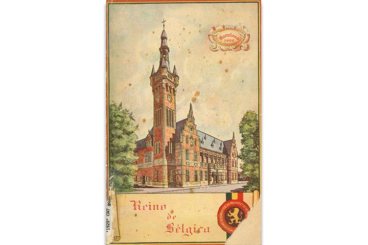 Catálogo oficial de la participación belga en la exposición internacional y universal de Barcelona 1929