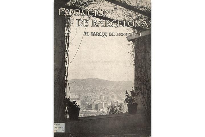 Exposición de Barcelona: el parque de Montjuich