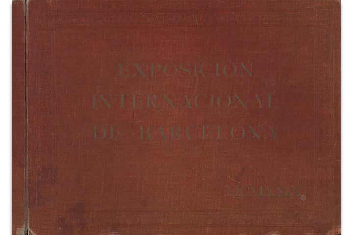 Exposición Internacional de Barcelona: Pueblo español MCMXXIX