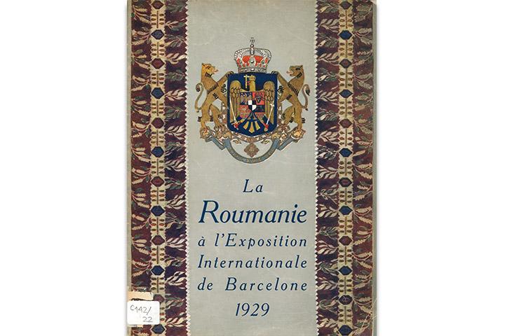 La Roumanie à l'Exposition Internationale de Barcelone 1929