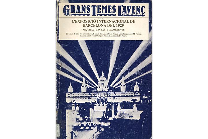 L'Exposició Internacional de Barcelona del 1929: arquitectura i Arts Decoratives