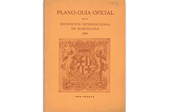 Plano-Guía oficial de la Exposición Internacional de Barcelona 1929