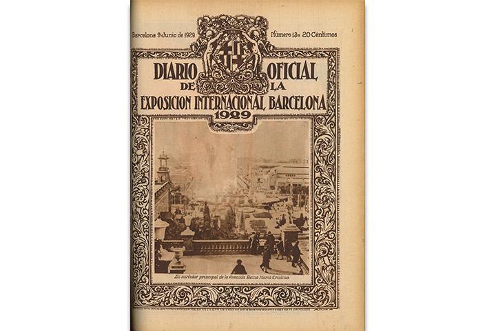 Diario oficial de la Exposición Internacional de Barcelona