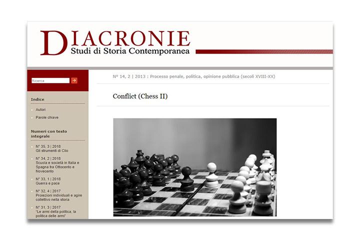 Diacronie: Studi di Storia Contemporanea