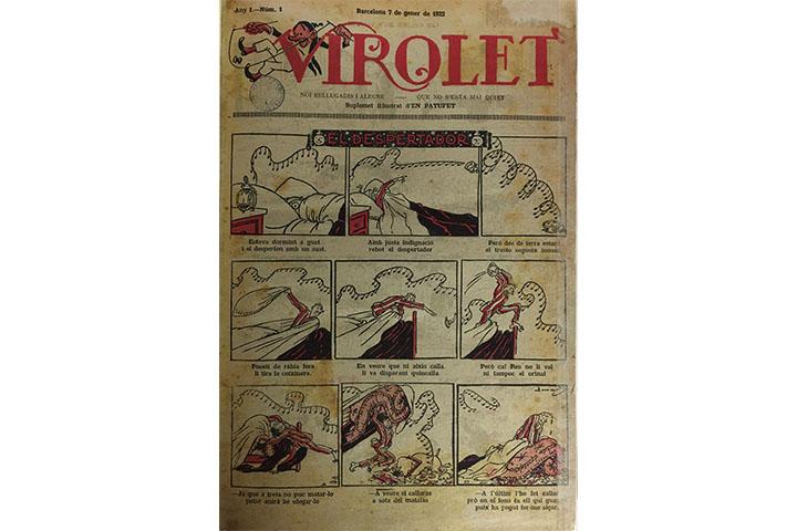 Virolet: noi bellugadís i alegre - que no s'està mai quiet, suplement il·lustrat d'En Patufet
