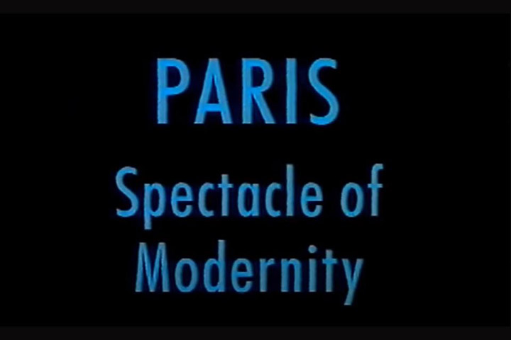 Paris spectacle of modernity