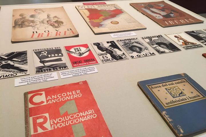 Propaganda i guerra civil | exposició virtual biblioteca joaquim folch i torres