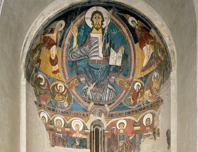 Pintures de sant Climent de Taüll