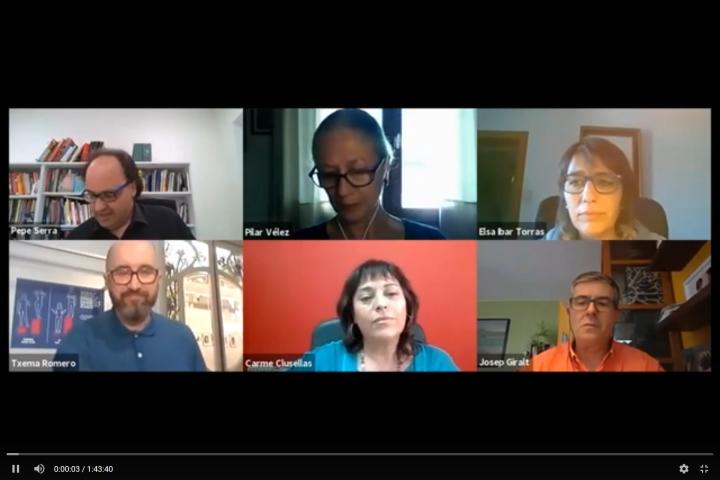 Debat: Els museus a Catalunya post covid-19: cap al museu social. Reptes i propostes de futur