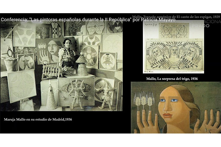 """Conferencia: """"Las pintoras españolas durante la II República"""" por Patricia Mayayo"""