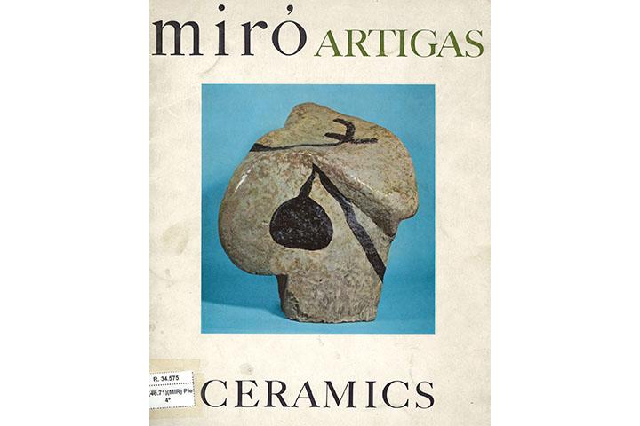 Miró, Artigas, ceramics: Pierre Matisse Gallery