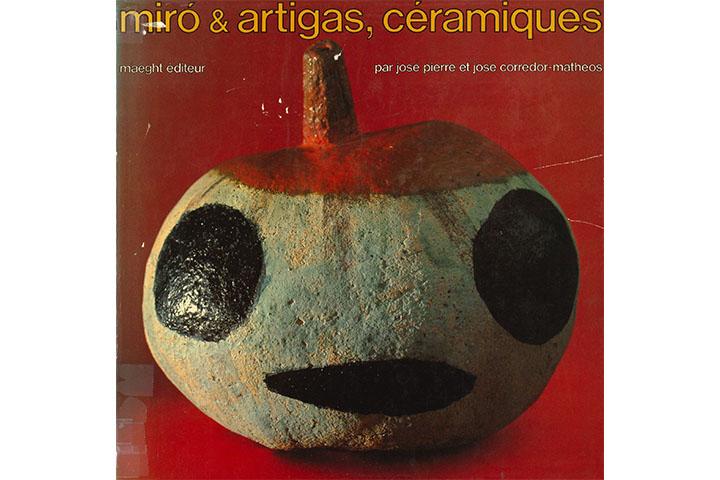 Céramiques de Miró et Artigas