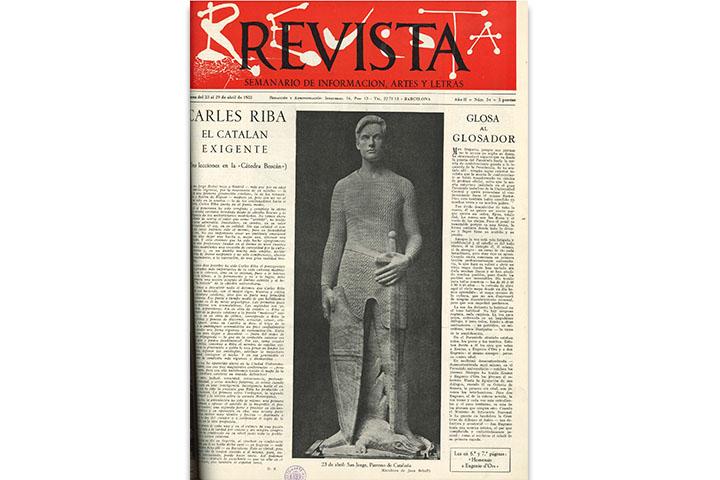 Revista: semanario de información, artes y letras