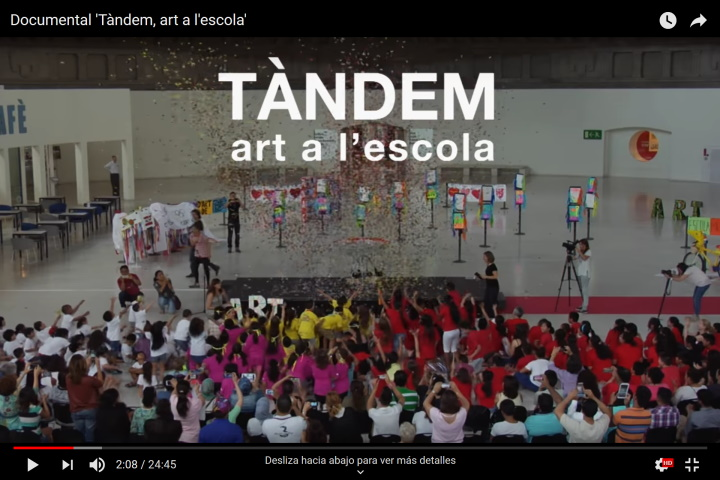 Documental 'Tàndem, art a l'escola'