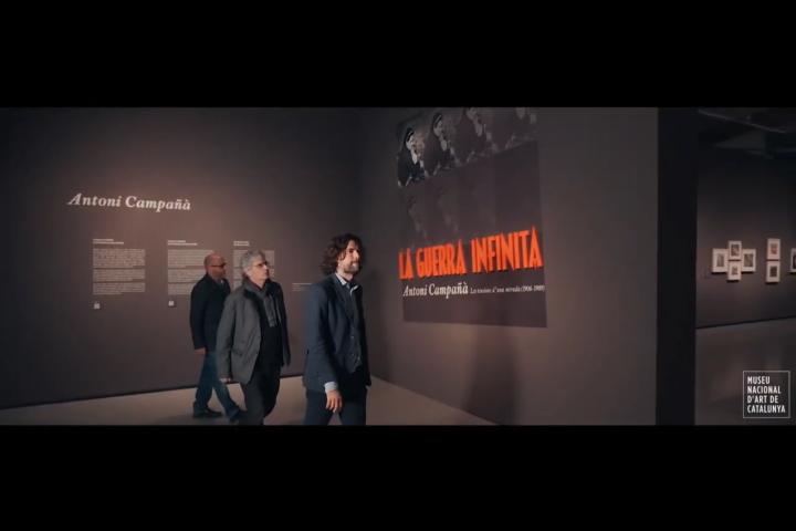 """Visita comentada a l'exposició """"La guerra infinita. Antoni Campañà"""""""