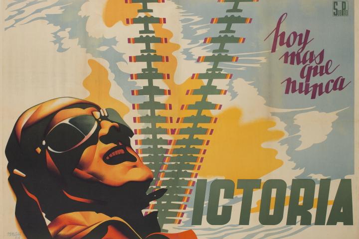 Josep Renau. Hoy mas que nunca, victoria, 1938. Col·lecció particular en dipòsit al museu, 2014 © Fundació Josep Renau – València