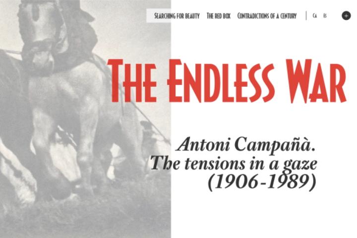 The Endless War. Antoni Campañà Online