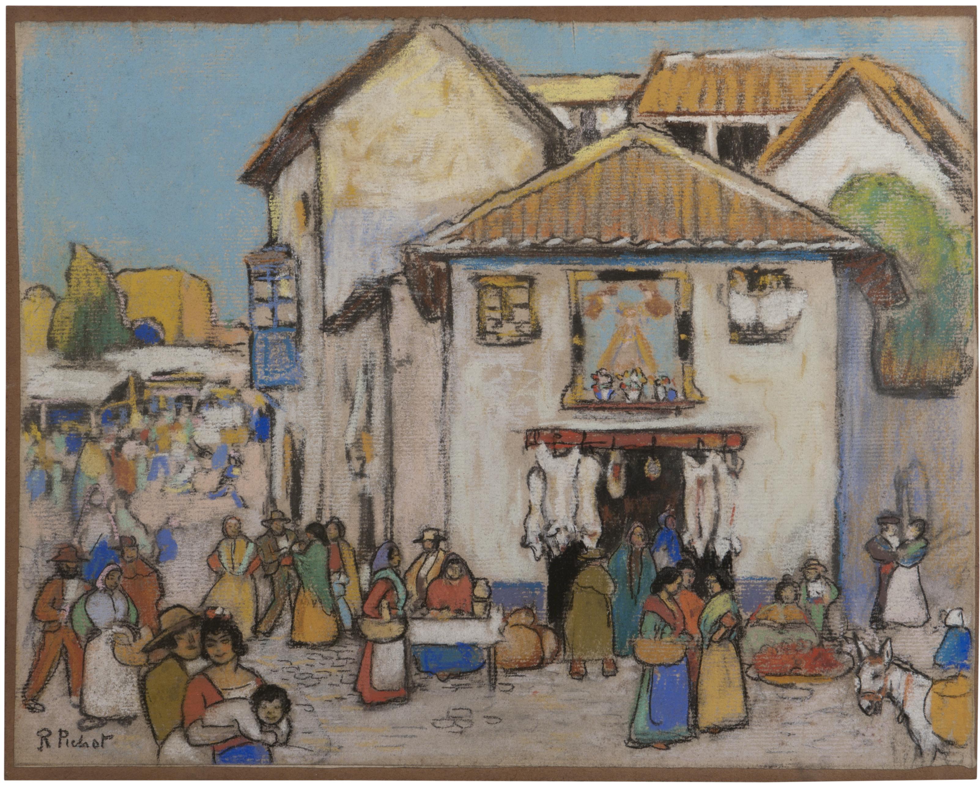 Ramon Pichot Gironés - Mercat - Entre 1906 i 1911 [1]