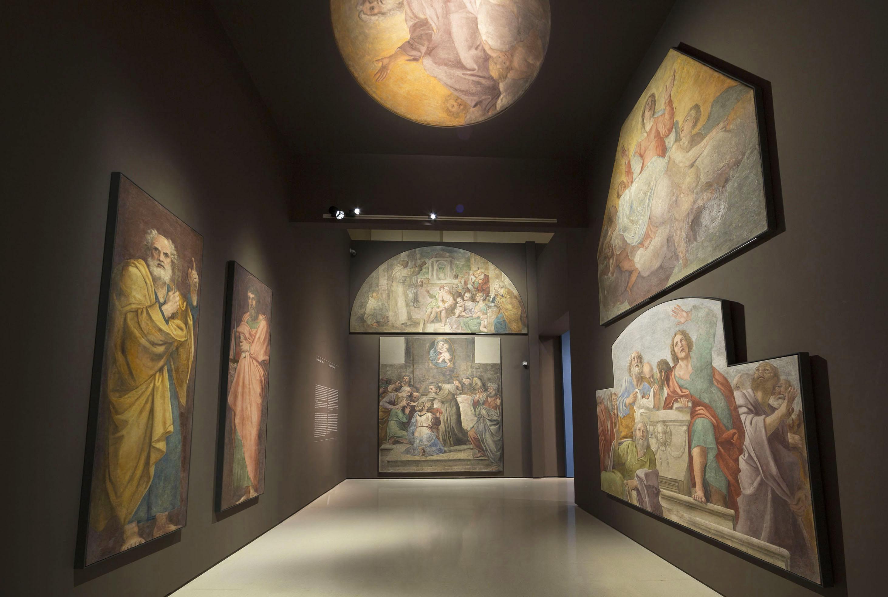 Annibale Carracci - Pintures murals de la Capella Herrera. dedicada a sant Dídac d'Alcalà - 1604-1606