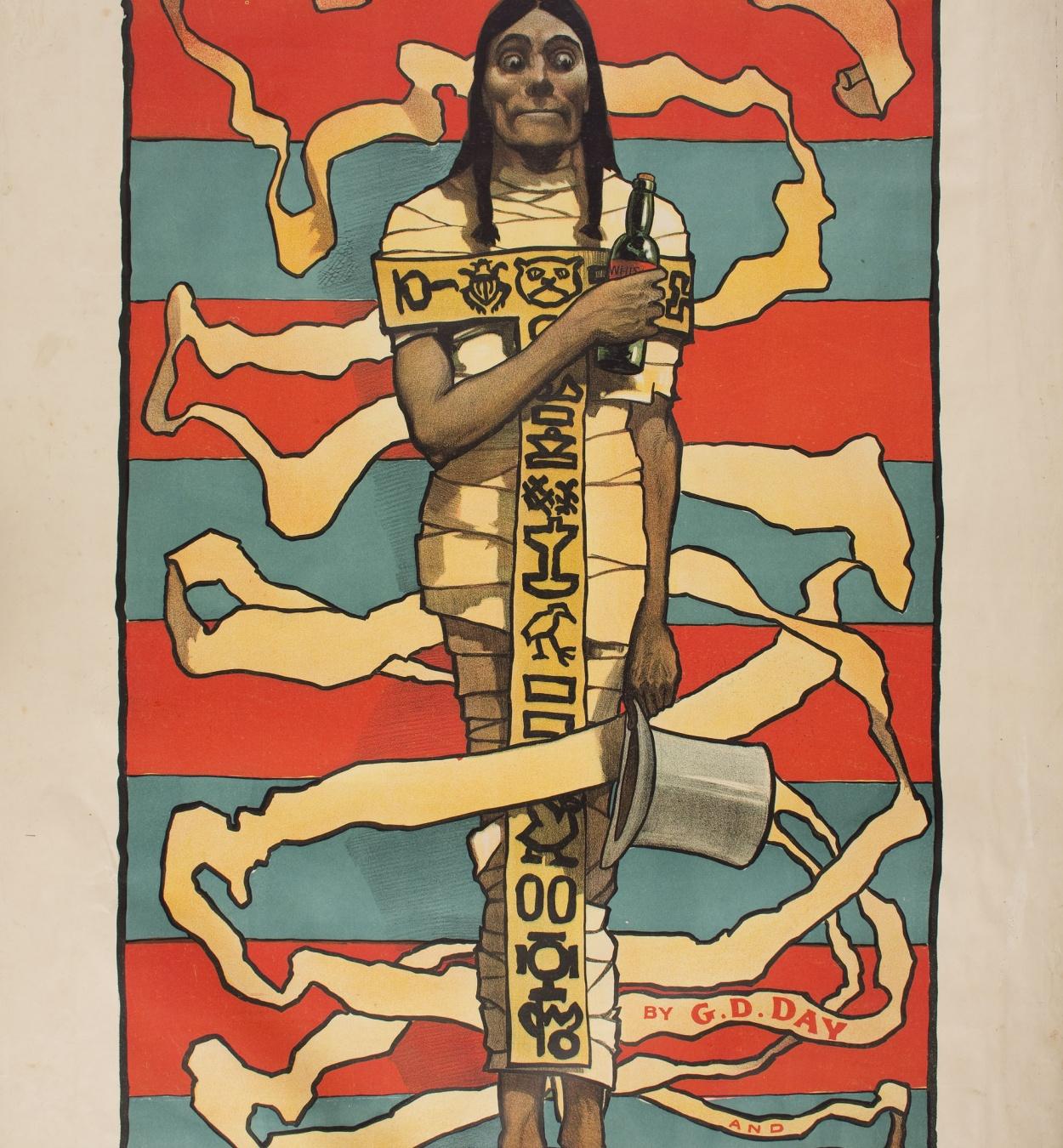 John Hassall - The Mummy - Circa 1895