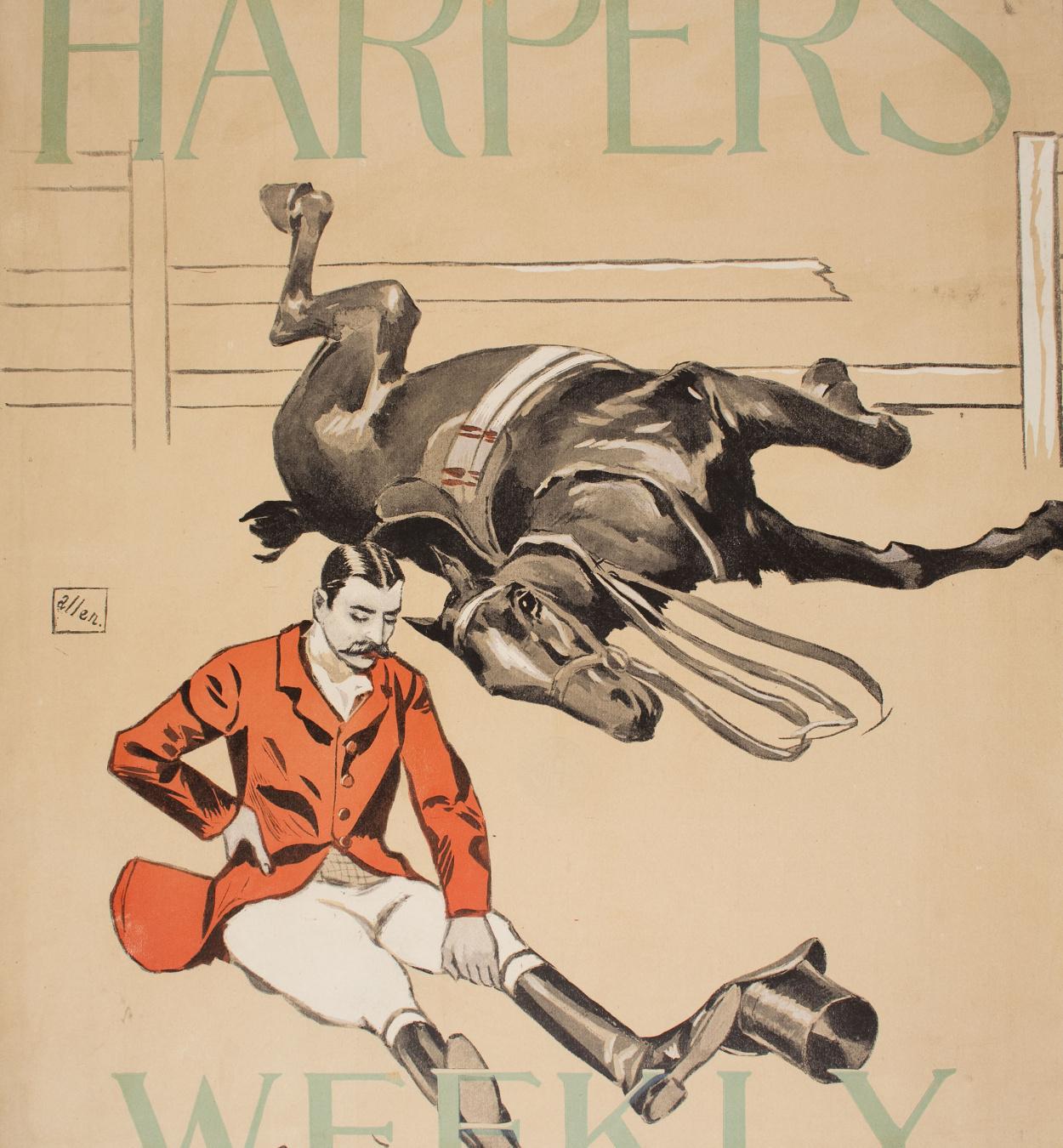 William Sullivant Vanderbilt Allen - Harper's Weekly - 1894