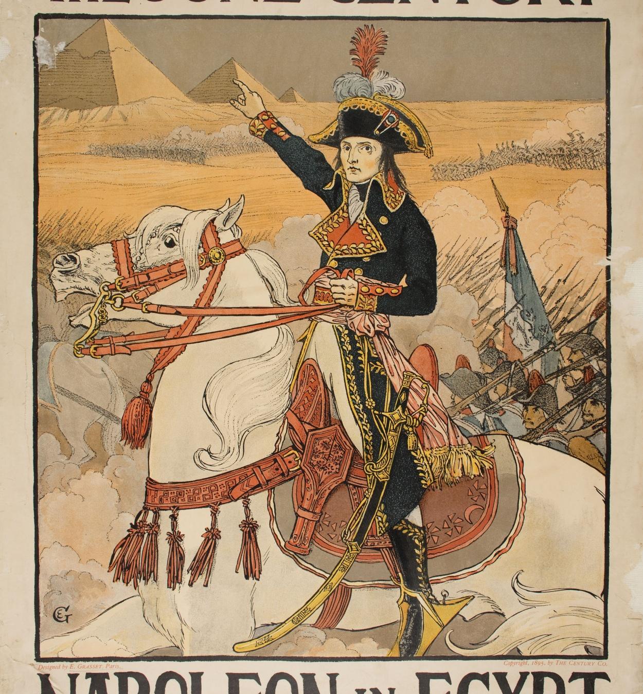 Eugène Samuel Grasset - The June Century. Napoleon in Egypt - 1895