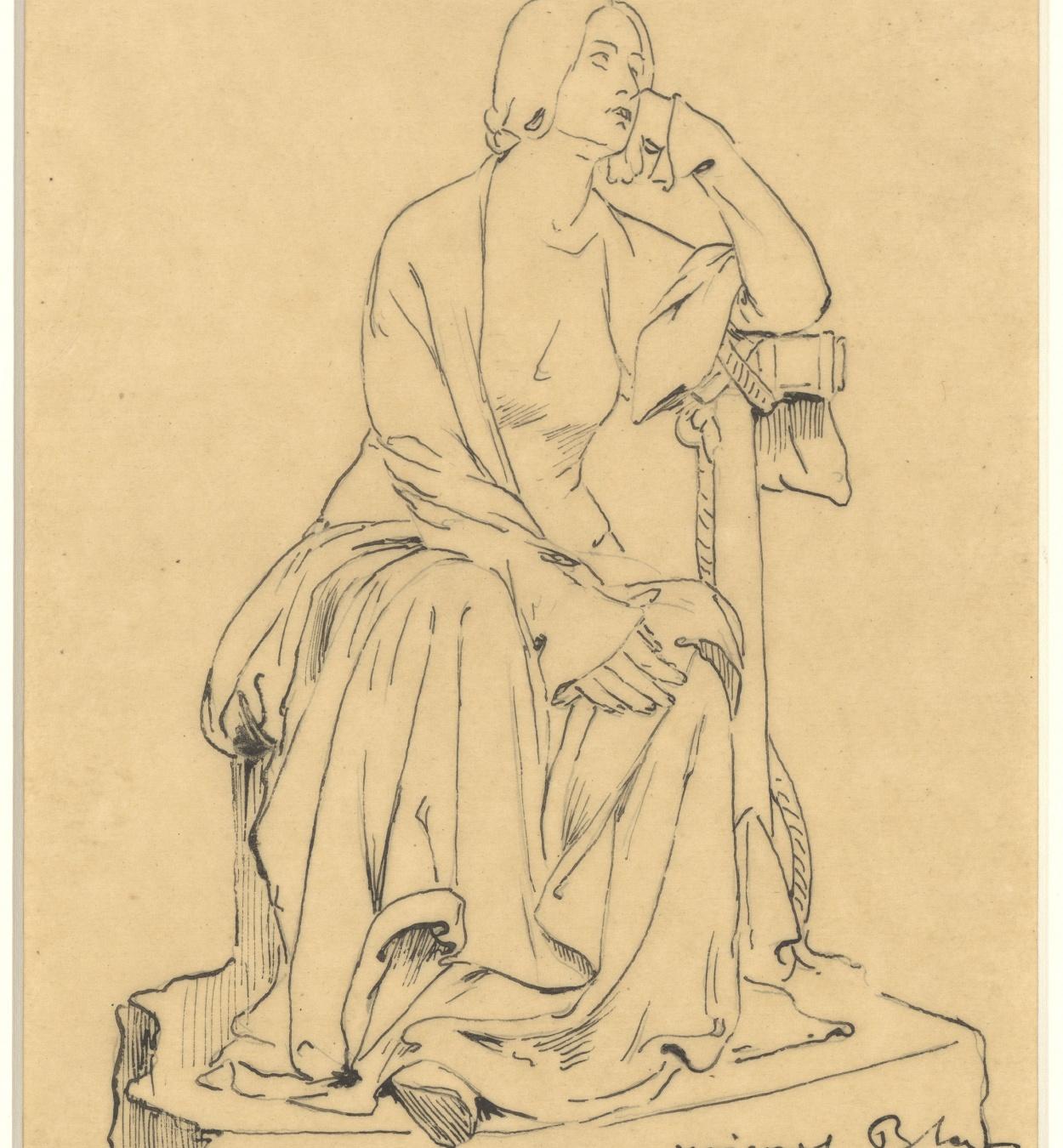 Miquel Blay - Hope, study for the sculpture of the tomb of Joaquín María de Errazu at the Père Lachaise cemetery (Paris) - 1898