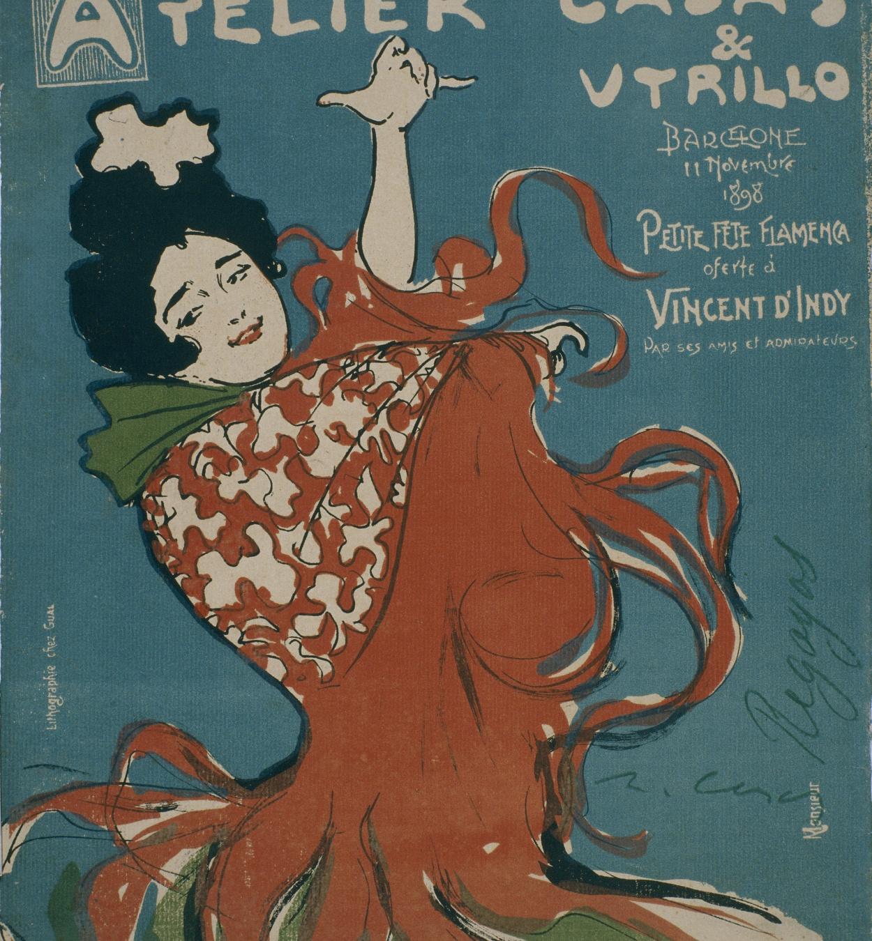 Ramon Casas - Atelier Casas & Utrillo - 1898