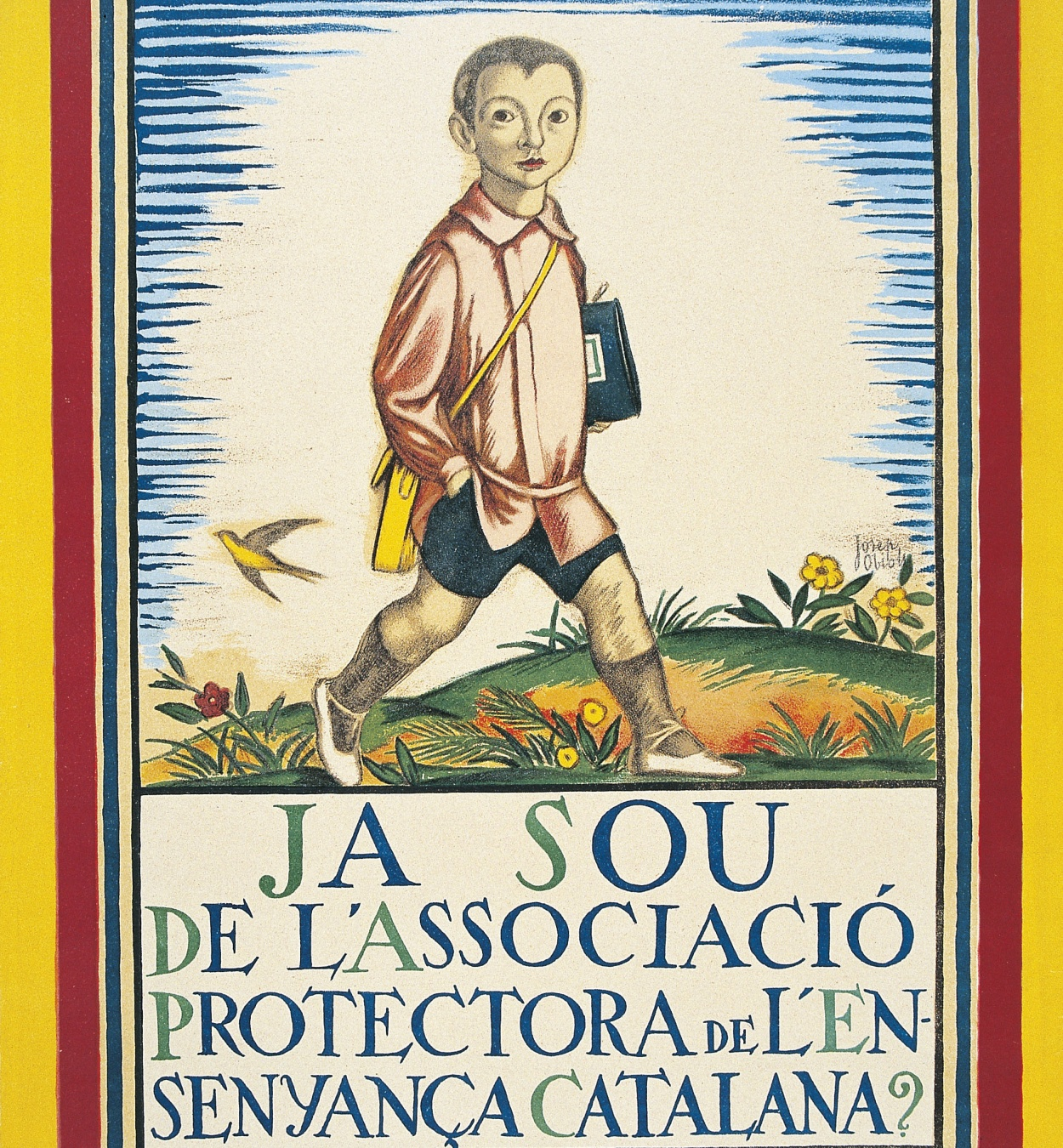 Josep Obiols - Ja sou de l'Associació Protectora de l'Ensenyança Catalana? - 1921
