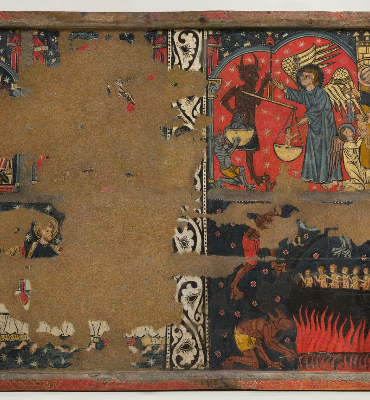 Mestre de Soriguerola - Taula de sant Miquel - Finals del segle XIII