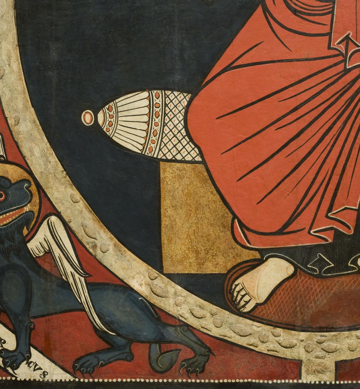 Anònim. Catalunya. Taller de la Seu d'Urgell del 1200 - Baldaquí de Tost - Cap a 1220 [3]
