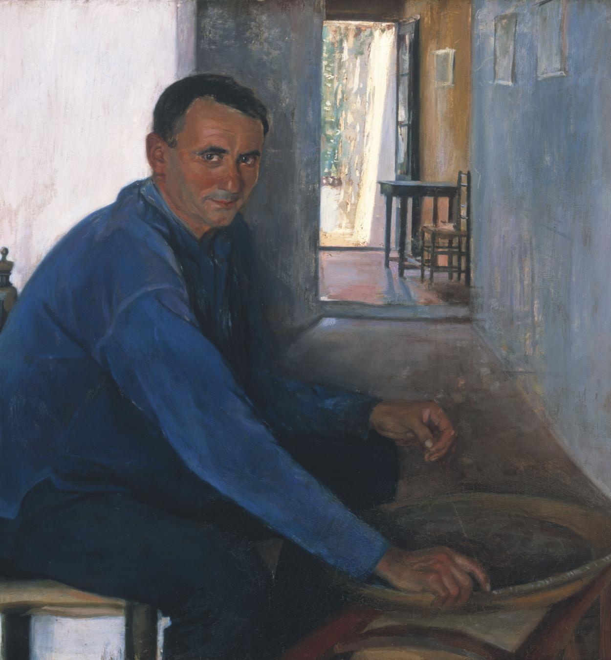 Santiago Rusiñol - Malavida from Sitges - Sitges, circa 1893