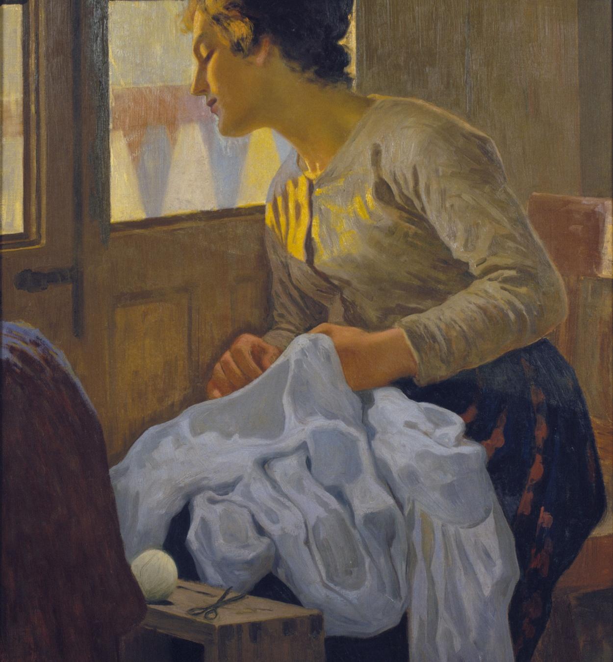 Joan Llimona - La esposa - Hacia 1906