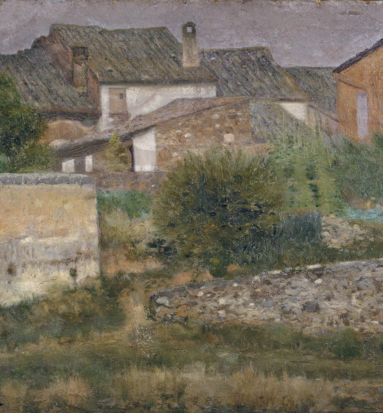 Nicolau Raurich - Un rincón de Sant Cugat del Vallès - Hacia 1906